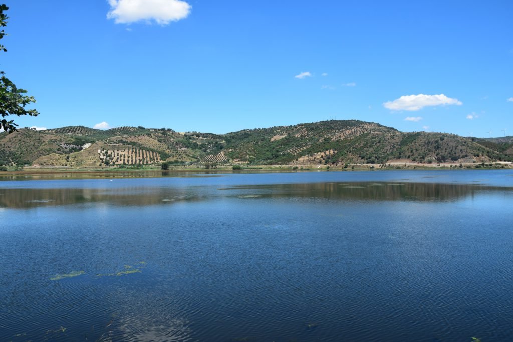 Panorama del Lago di Tarsia